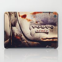 sport iPad Cases featuring Volvo Sport by Anna Dykema Photography