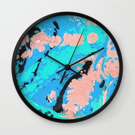 Marble texture 5 Wall Clock