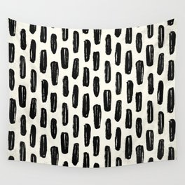 Ivory Vertical Dash Wall Tapestry