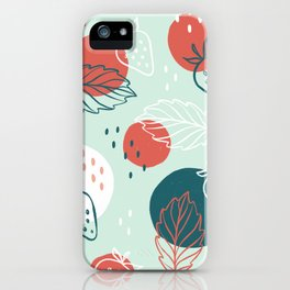 Have a Berry Happy Birthday Strawberries iPhone Case
