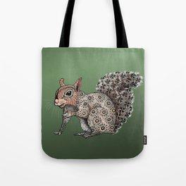 Squirrel Totem Tote Bag