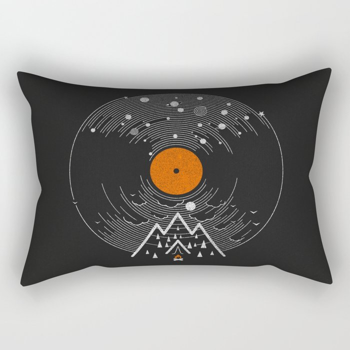 re/cordless Rectangular Pillow
