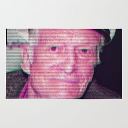 Hugh Hefner Rug