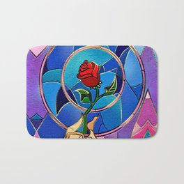 Flower of love Bath Mat
