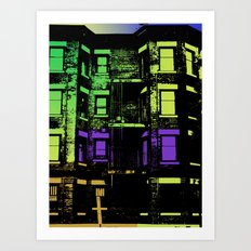 In the DC Streets  Art Print