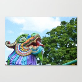 Chinese Dragon Ride Canvas Print