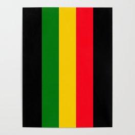 Rastafari Colors Poster