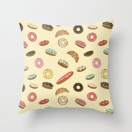 Pastry Throw Pillow