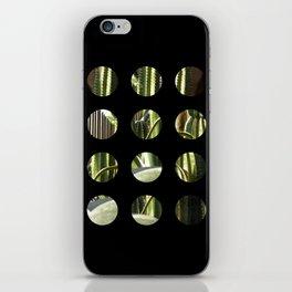 Cactus Garden Art Circles 2 iPhone Skin