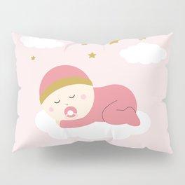 It's a girl Pillow Sham