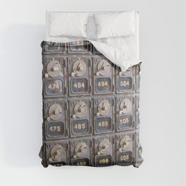 When Mail had Meaning Comforters