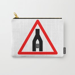 Beer Time Sign Carry-All Pouch