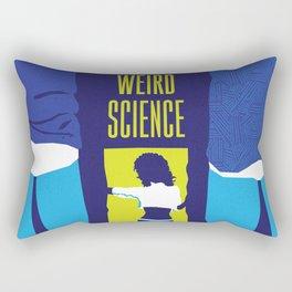 80s TEEN MOVIES :: WEIRD SCIENCE Rectangular Pillow