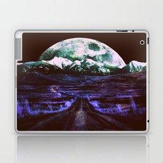 Highway to Eternity (vintage moon mountain) Laptop & iPad Skin