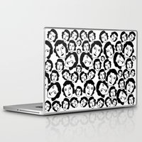 women Laptop & iPad Skins featuring Women by Emmanuelle Ly