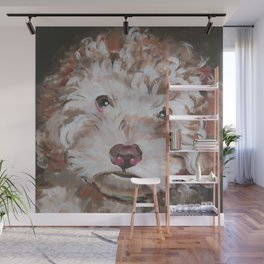 Lily the Bichon Wall Mural