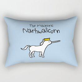 The Majestic Narwhalicorn Rectangular Pillow