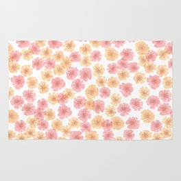 Pink Cherry Blossom Rug