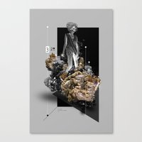 secret life Canvas Prints featuring The Secret Life of Minerals by Christoph Ruprecht