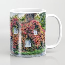 Autumn Cottage Coffee Mug