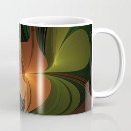 Fantasy Plant, Abstract Fractal Art Coffee Mug