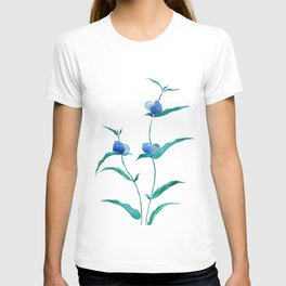 spreading dayflower T-shirt