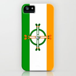 Hurley and Ball Celtic Cross Design iPhone Case