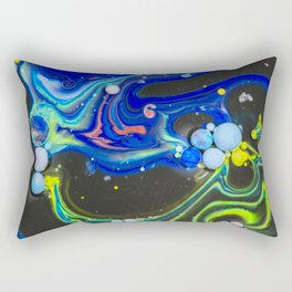 Bubbles Art Thanos Rectangular Pillow