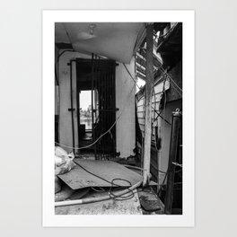 Doorway to Oblivion  Art Print