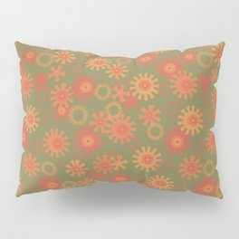 abstract pattern with suns Pillow Sham