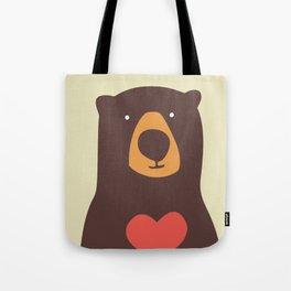Hearty bear hug Tote Bag