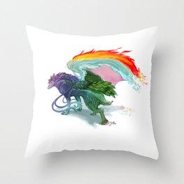 Pure Nighthound Throw Pillow