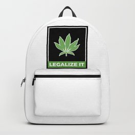 Legalize Weed Backpack