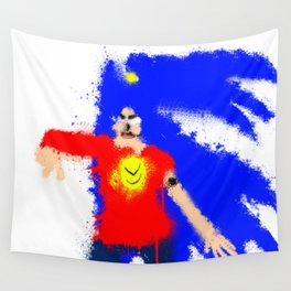 Splatter Yuki Wall Tapestry