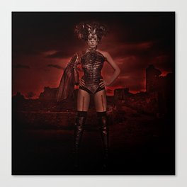 red apocalypse Canvas Print