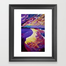 DNSW Series: The Bliss of Byron Bay Framed Art Print