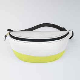 Marble yellow stripes Fanny Pack