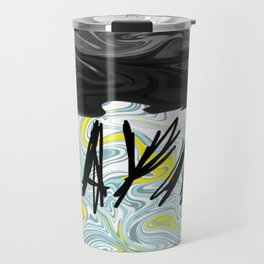 Messy Cloud Travel Mug