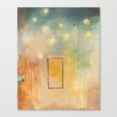 bird and open window Canvas Print