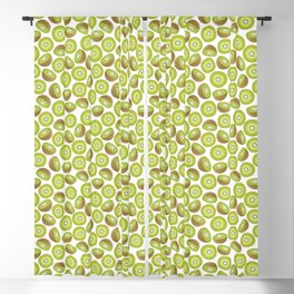 Many Kiwis Blackout Curtain