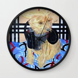 Benji Got Bass Wall Clock