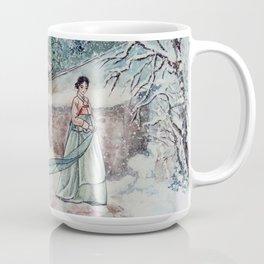 Korean Winter (Watercolor painting) Coffee Mug