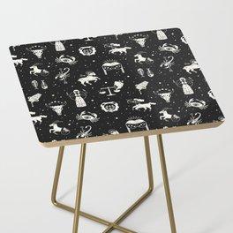 Strange Fortunes: Midnight Side Table