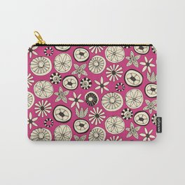 summer flowers pink Carry-All Pouch