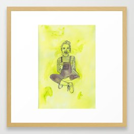 I've grown up to be a child! Framed Art Print