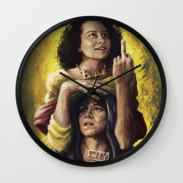 Broad Saints Wall Clock