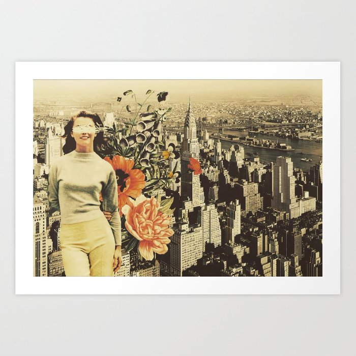 """""""Postcards from NYC"""" Art Print"""