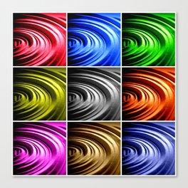 Pop Spin Canvas Print