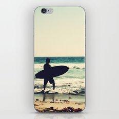 Vintage Surfer iPhone & iPod Skin