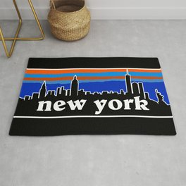 New York Cityscape Rug